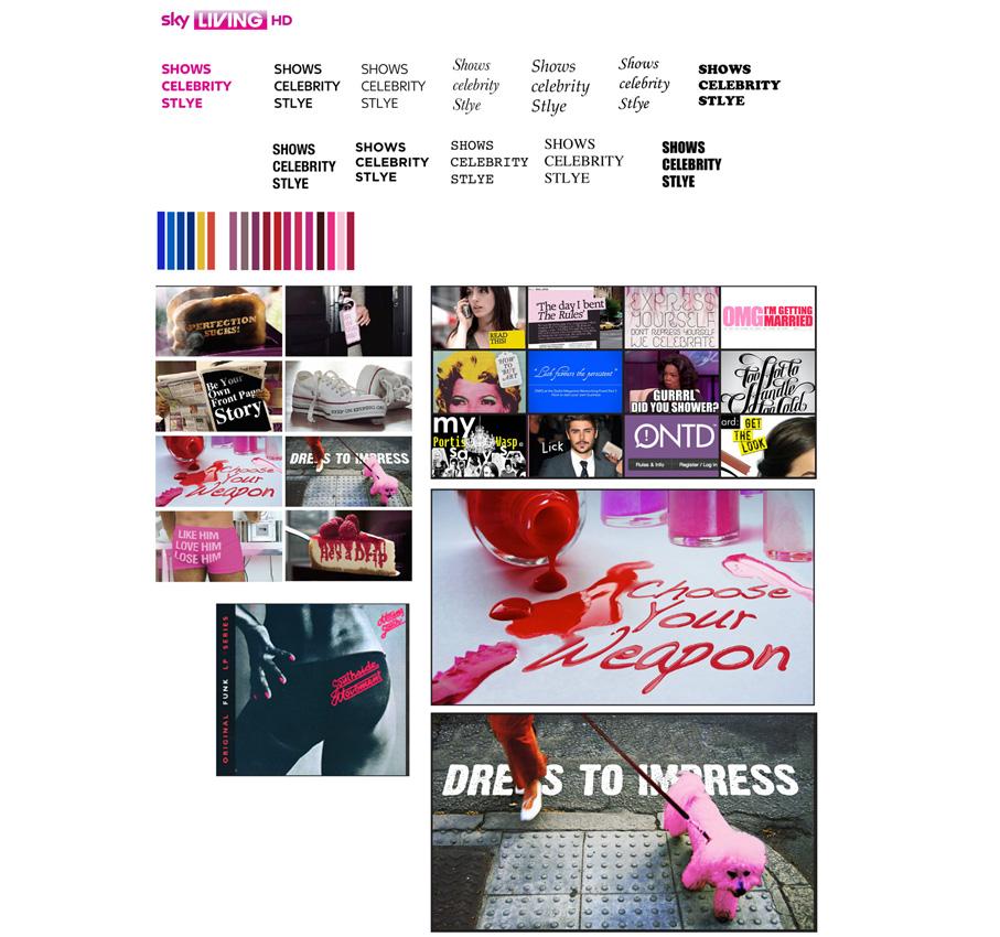 branding-skyLiving-moodboard